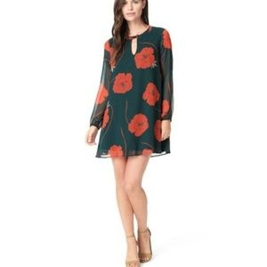 Cupcakes and Cashmere Small Floral Shift Dress